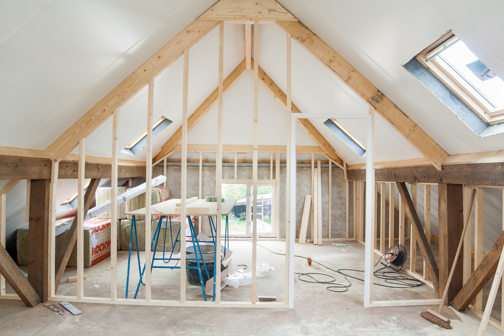 rénovation entière d'une maison